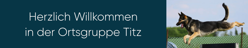Kopfbild der OG Titz - Verein für deutsche Schäferhunde - Herzlich Willkommen!
